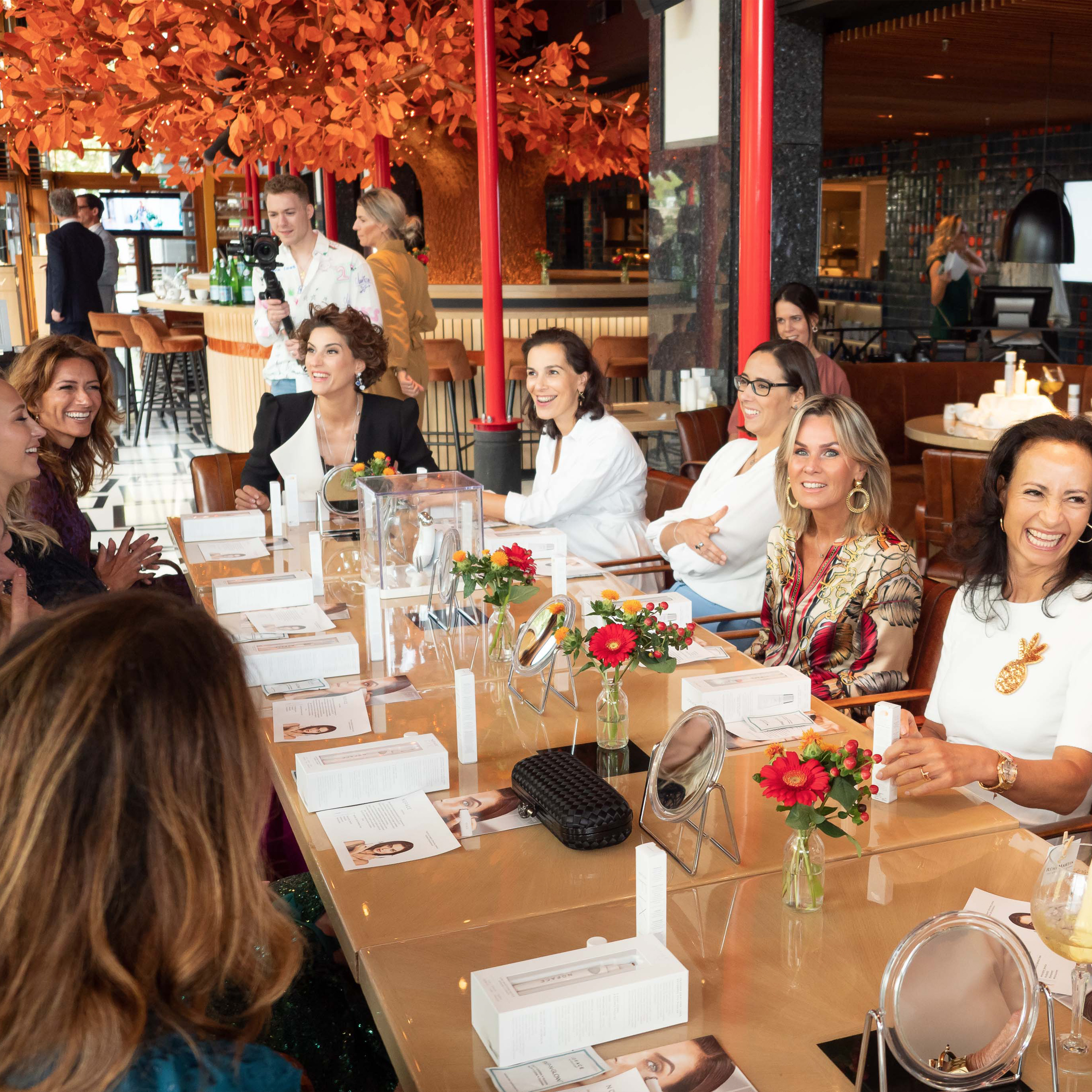NuFACE partner @ Talkies lunch 2019 at SUSHISAMBA Amsterdam