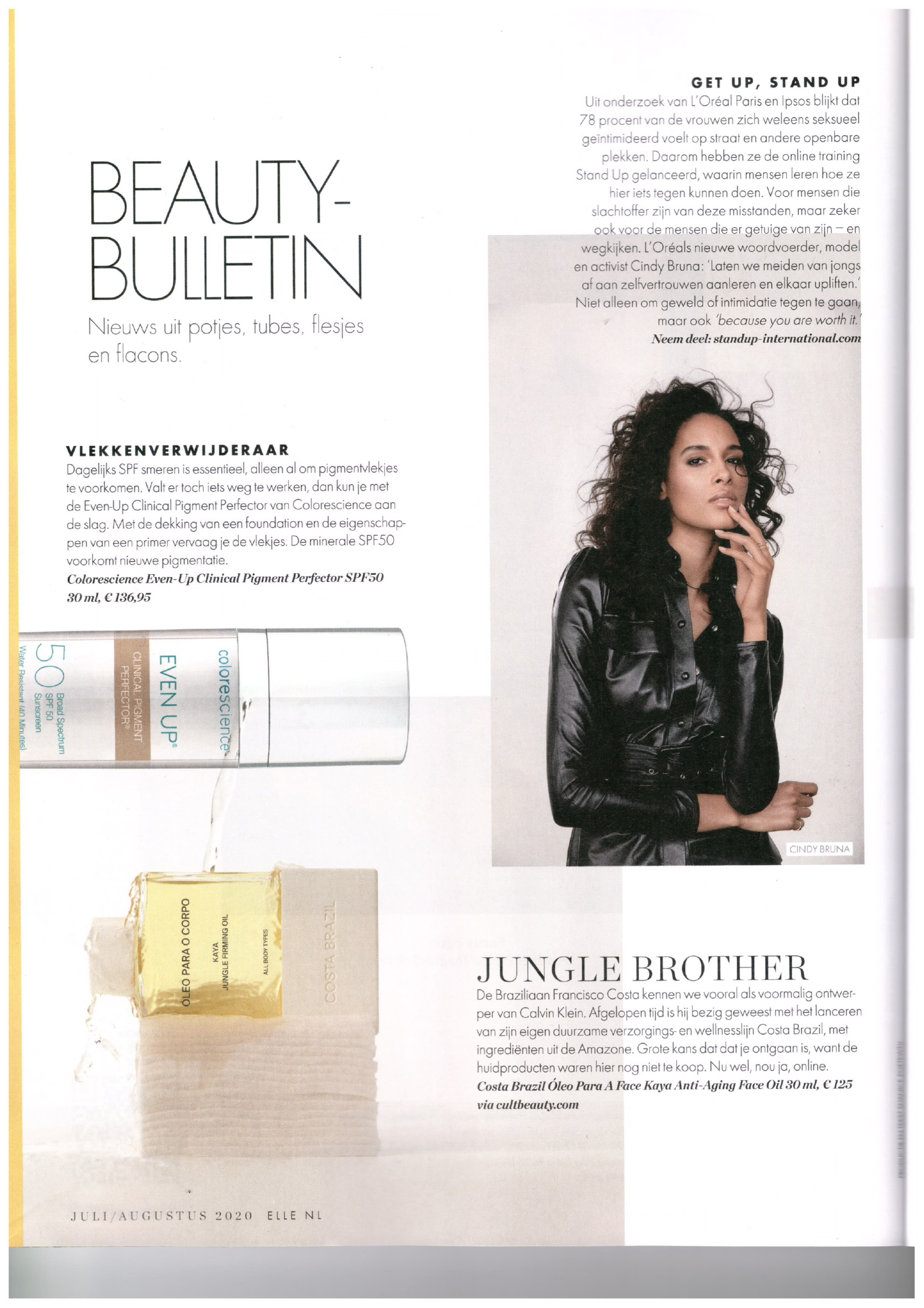 Colorescience in ELLE