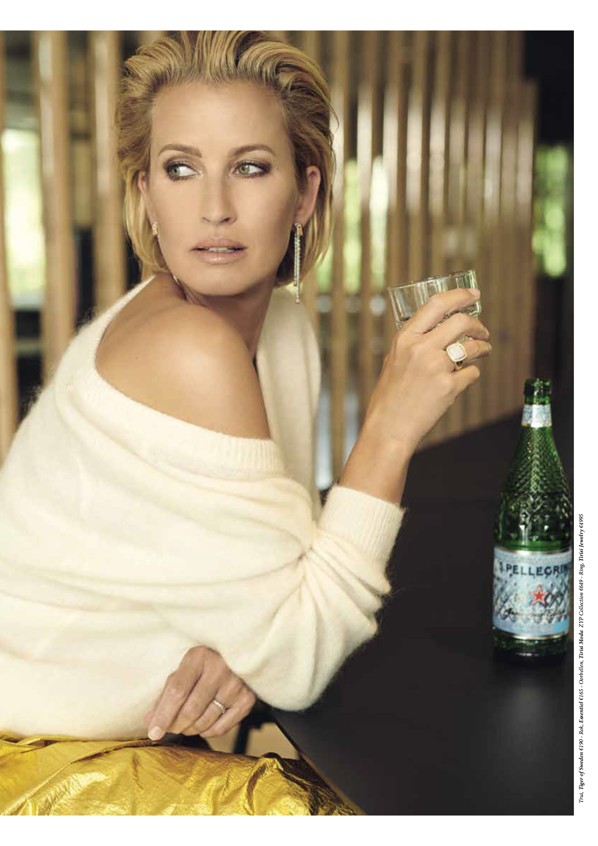 S.Pellegrino Diamond Bottle in Talkies Magazine